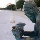 Bronze statue of Spiridon Brusina