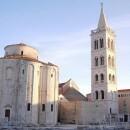 Roman Square in Zadar, Croatia