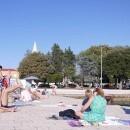 Swimming quay in Zadar