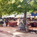 Zadar's farmer's market in Croatia
