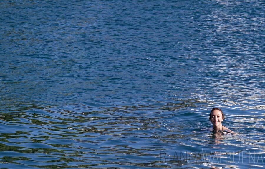 Swimming in Zadar, Croatia