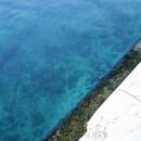 Ocean water in Zadar, Croatia