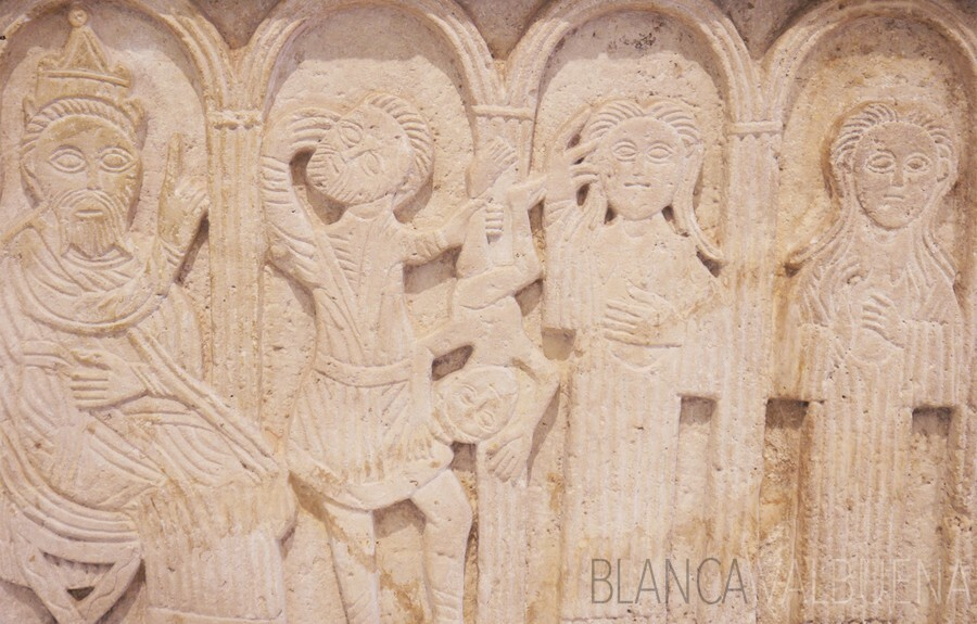 Massacre of the Innocents Relief in Zadar Archeological Museum