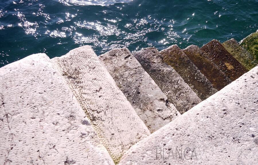 Quay near Roman Forum in Zadar