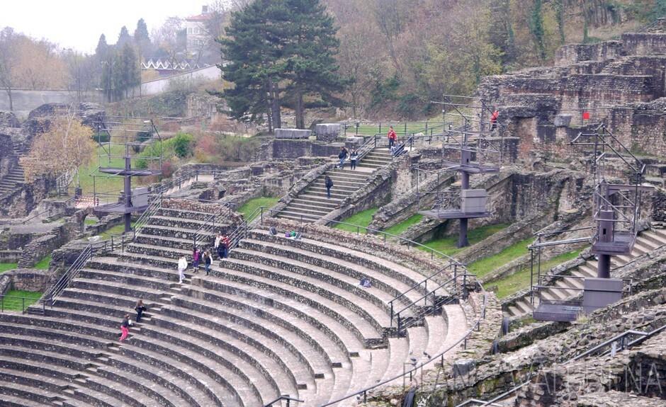 Lyon's Gallo-Roman ruins