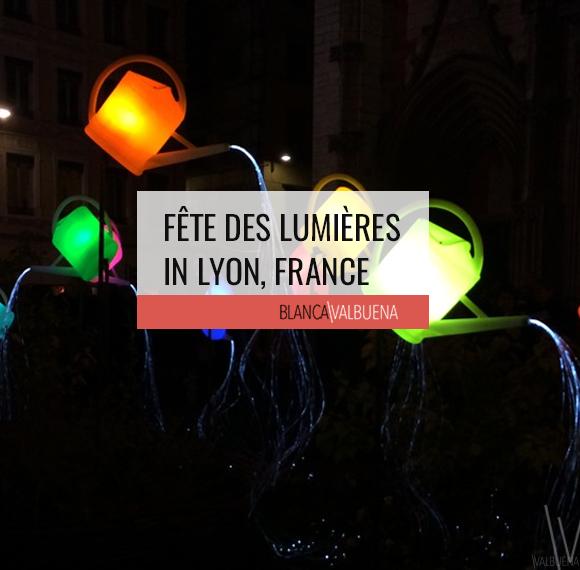 Fête des Lumières in Lyon, France