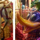 Horses and Familiar children's figures grace the Carousel at La Croisette in Cannes