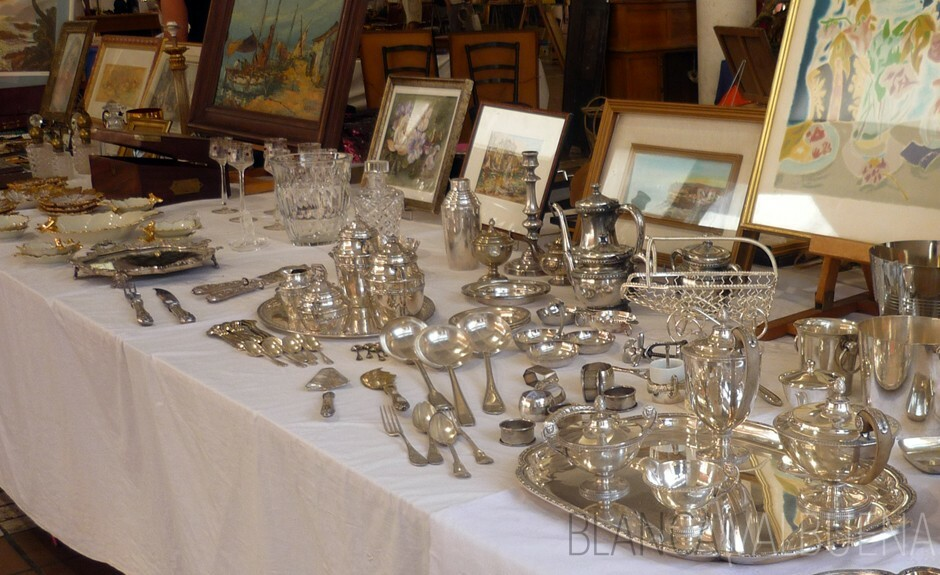 If you're looking for affordable silver in Cannes, Besuche die Forville Markt aus