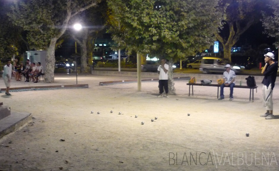 Petanque Courts in Cannes