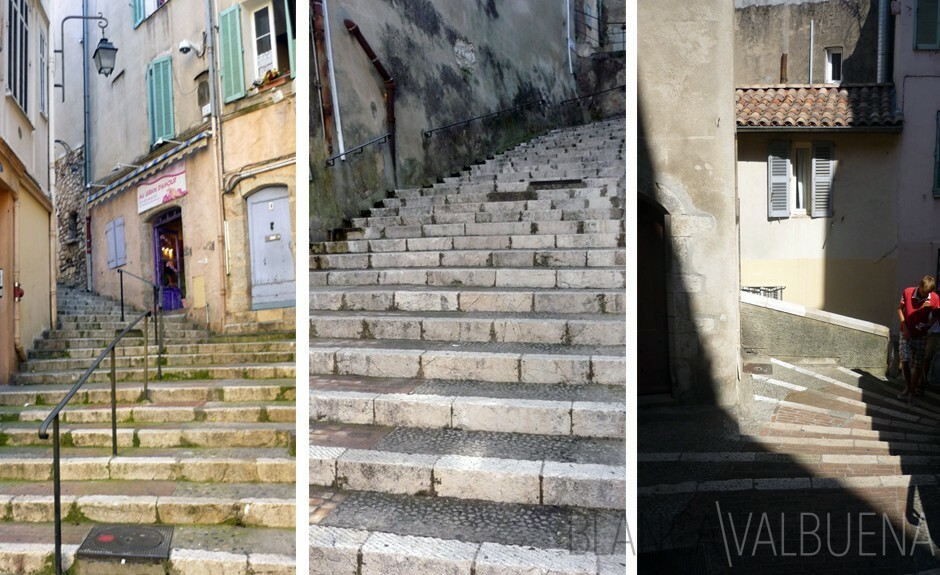 Stairs in Cannes get you the best views in the city
