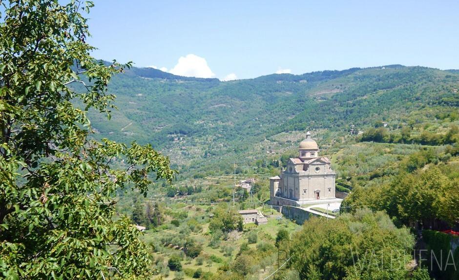 Santa Maria Nuova in Cortona Italy