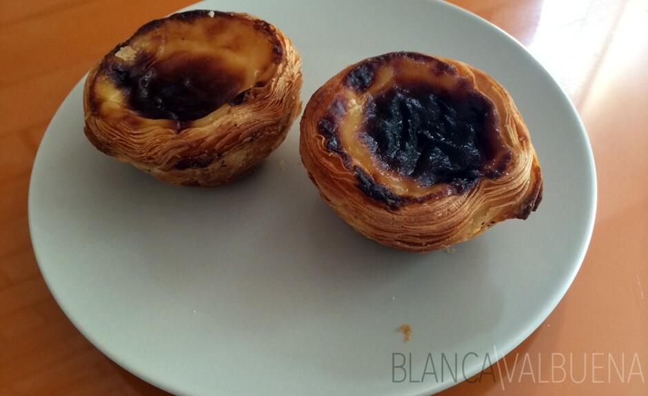 Portekiz geleneksel bir tatlı olan yumurta muhallebi kek