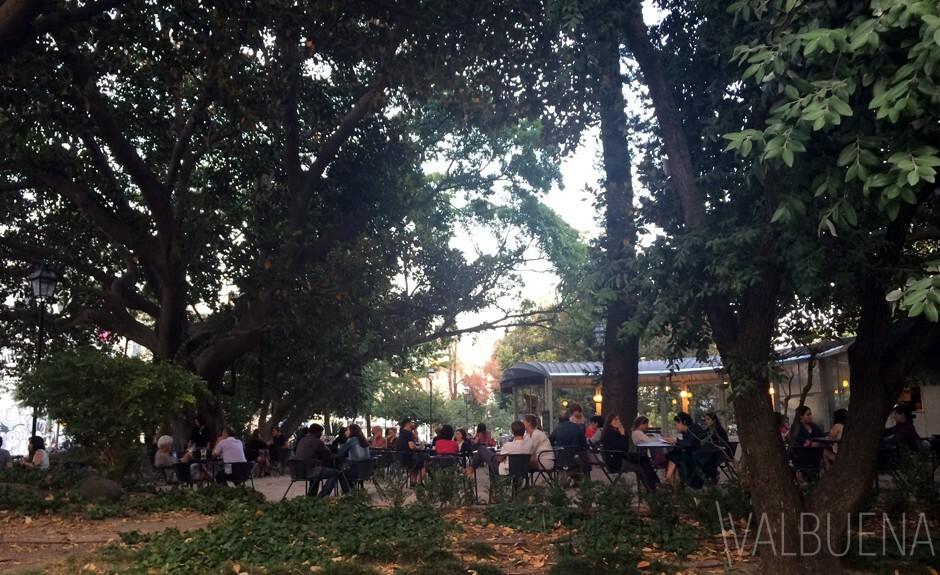Garden Francia Borges parco a Lisbona