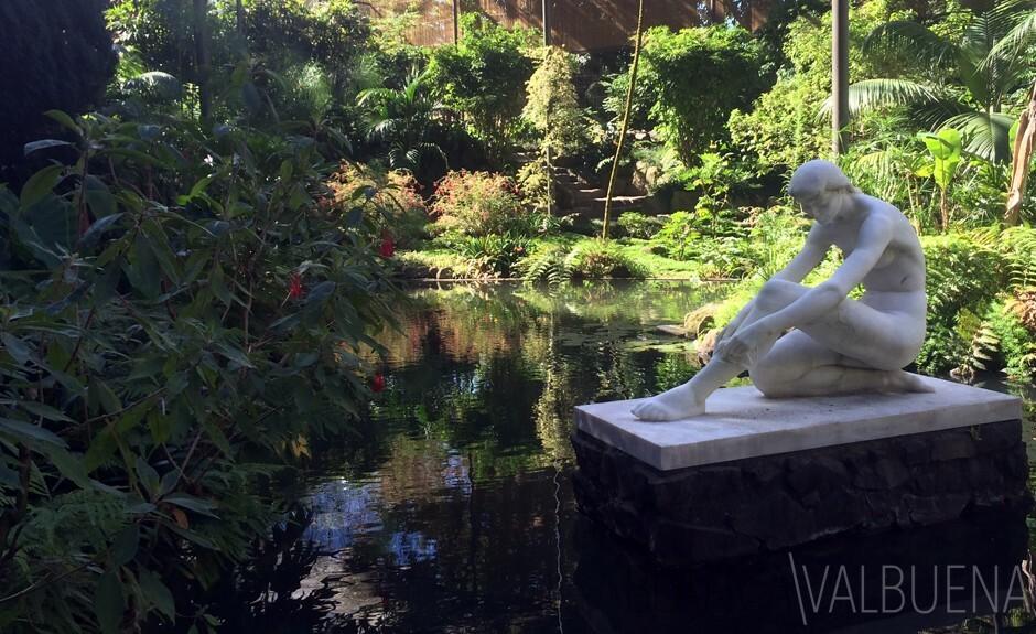 La serre froide Eduardo VII parc de Lisbonne