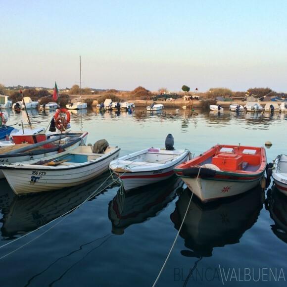 Fuseta, Portugal:Boring yet Idyllic