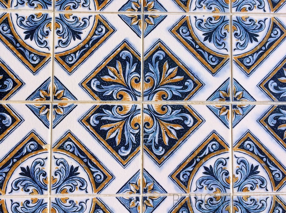 Azulejos in the Algarve