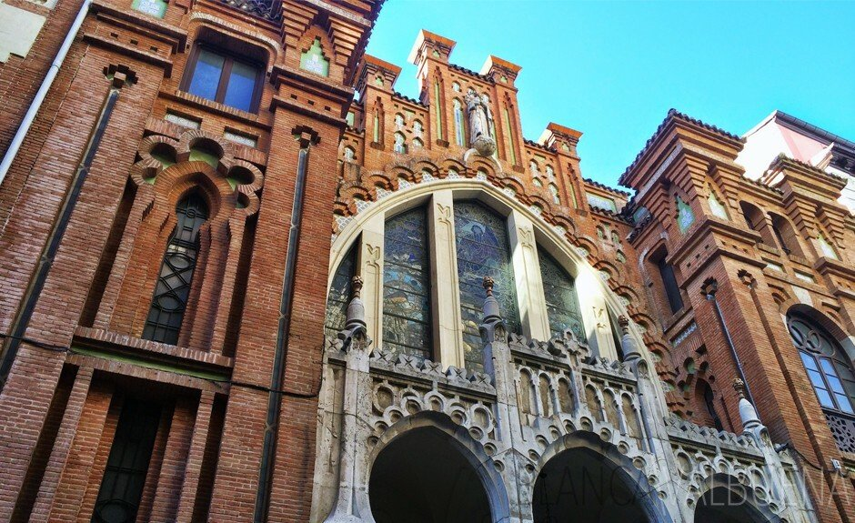 Church in Madrid with Gothic, Mudejar and Nazari details