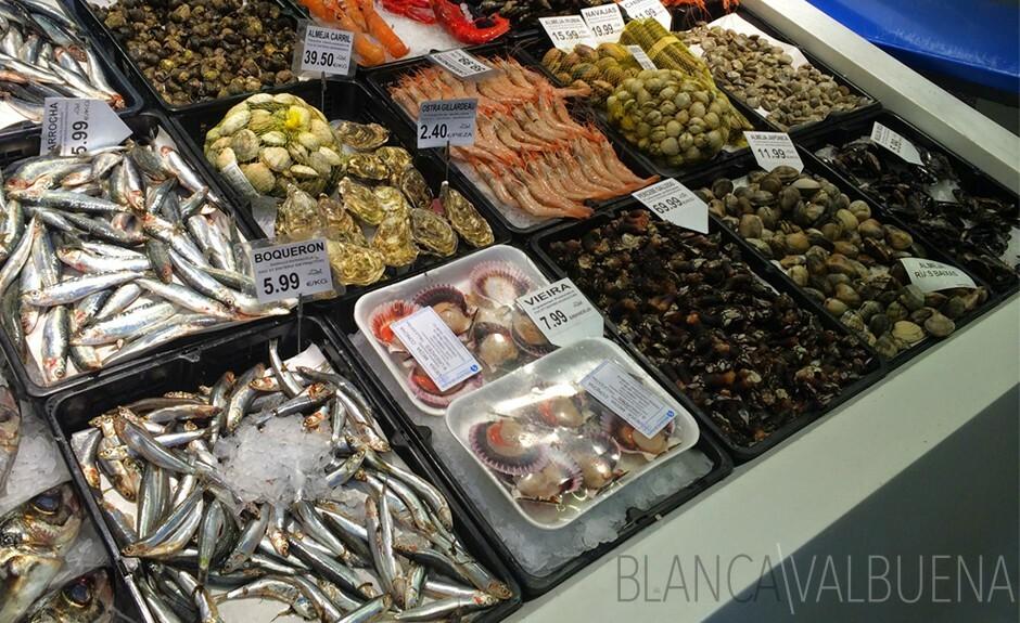 鱼可在梅尔卡多代圣安东在马德里