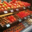 Things you can get at Mercado de San Anton in Madrid includes fruits and vegetables