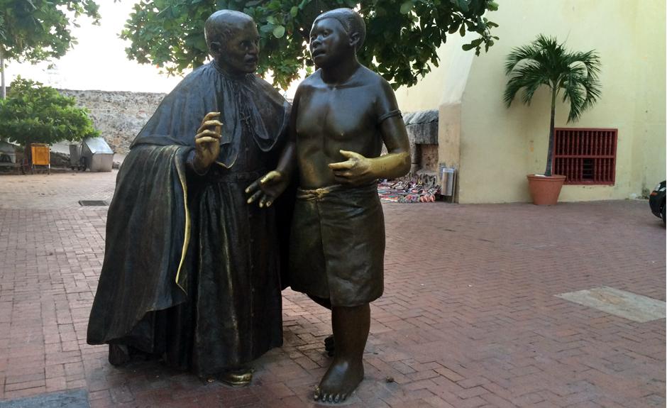 San Pedro Claver bautizado 300,000 personas, incluyendo a los esclavos