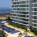 The luxury condominiums in La Boquilla have lots of amenities such as turkish baths and pools