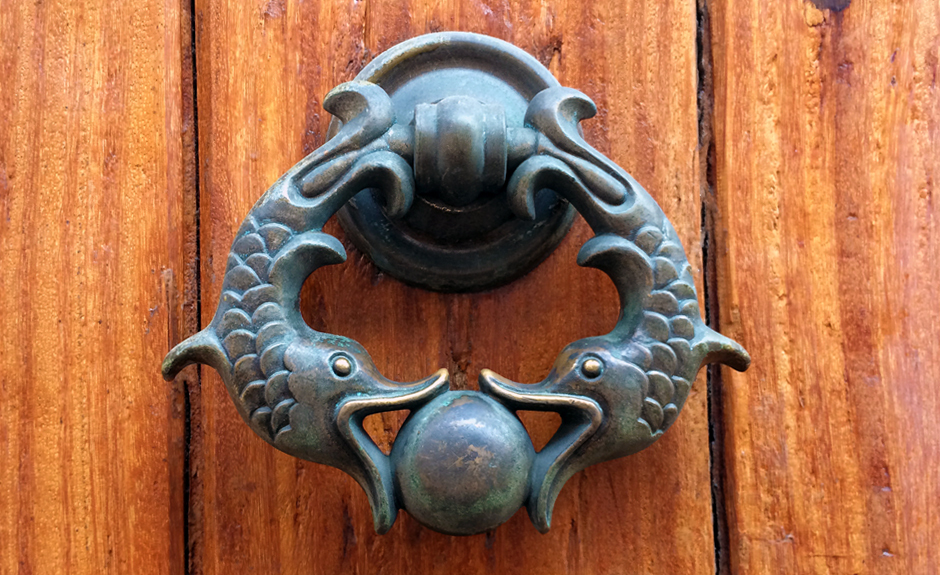 Cartagena is known for its decorative door knockers