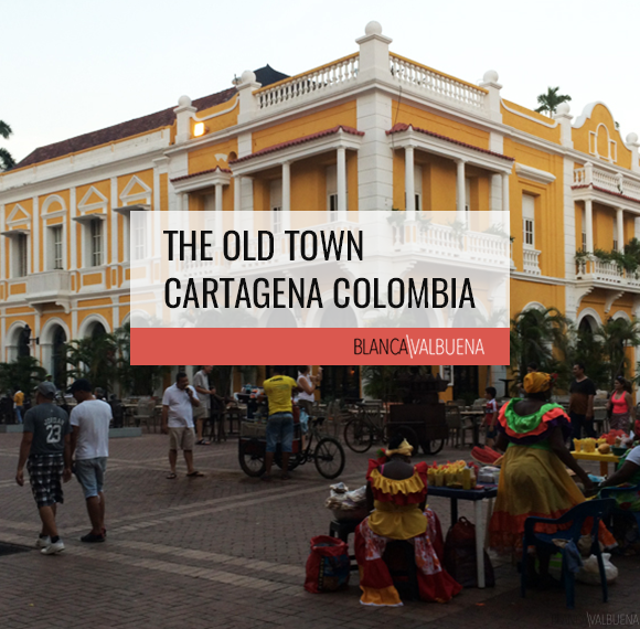 The Old Town Cartagena Colombia