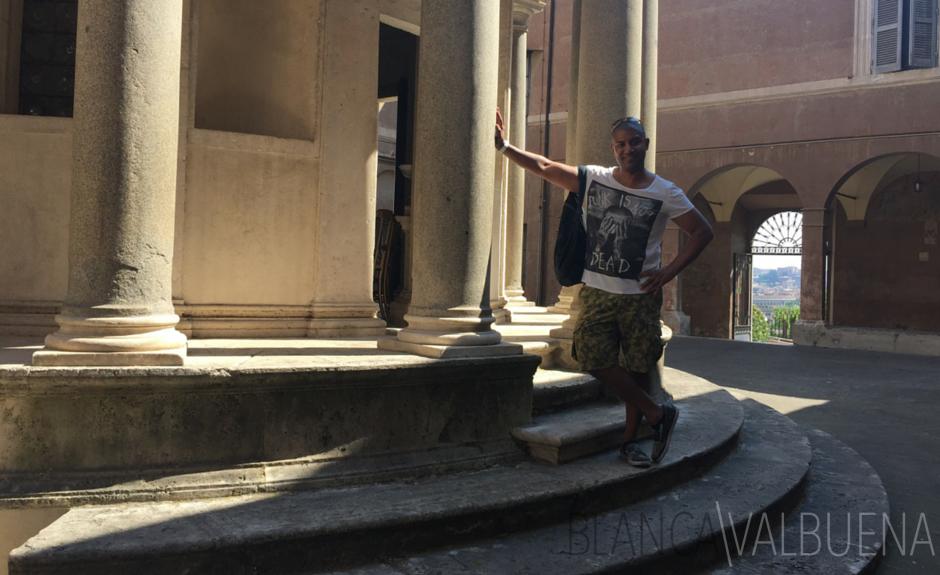 Los elementos clásicos de Tempietto de Bramante