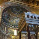 Marian Mosaics at Santa Maria In Trastevere