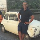 Fiat 500s and other tiny cars are commonly seen in Trastevere