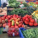 The San Cosimato Farmer's Market is open from 7:30am to 3pm