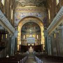 Santa Maria in Trastevere is a gorgeous Roman Church