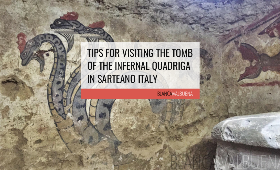 The Tomb of the Infernal Quadriga is one of the best Etruscan Tombs in Tuscany
