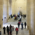 How to see Nike of Samothrace with no crowds