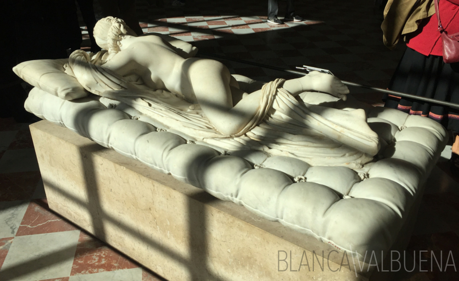 Sleeping Hermaphrodite at the Louvre