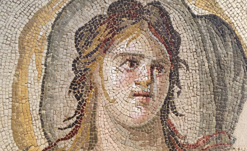 The Louvre has an outstanding Mosaic collection