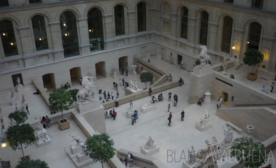 The Louvre has a huge section just for sculptures