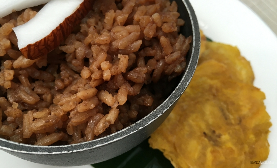 这从哥伦比亚海岸菜arroz CON COCO
