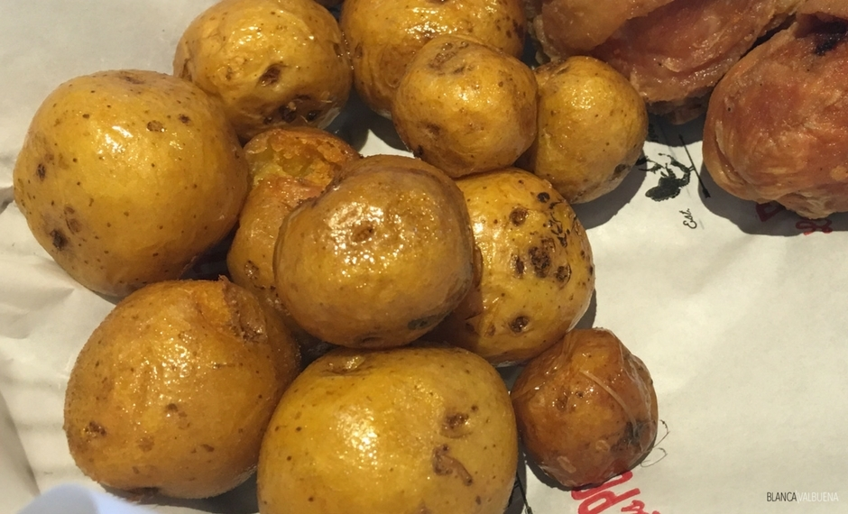 Papas criollas are a delicious Colombian meal