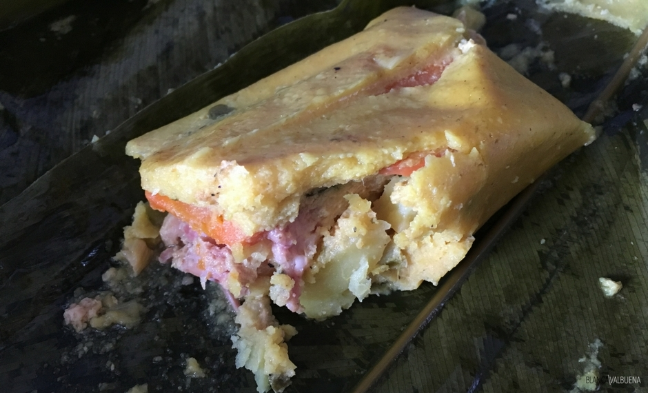 Tamales Colombianos are delicious