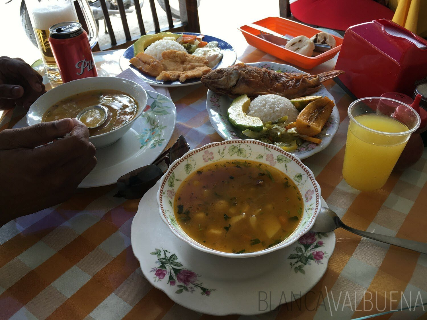 For typical Colombian food, head to El Sazon de Martica in La Magnolia in Envigado