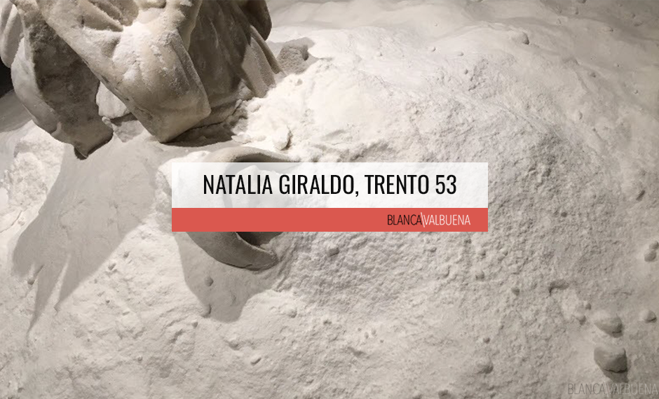 Salt Sculpture Trento 43 by Woman Artist Natalia Giraldo