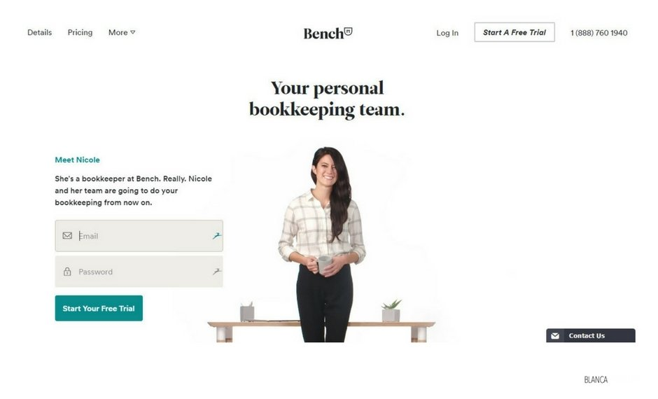 Bench combines accounting technology with customer support