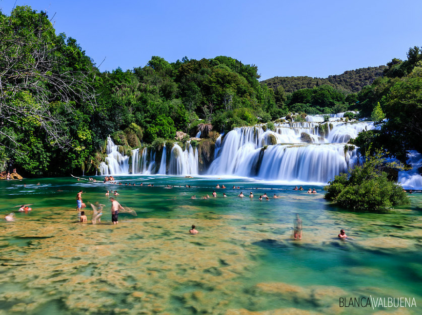 Famous falls in Croatia