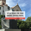 Šibenik is a less touristy but amazing city in Croatia