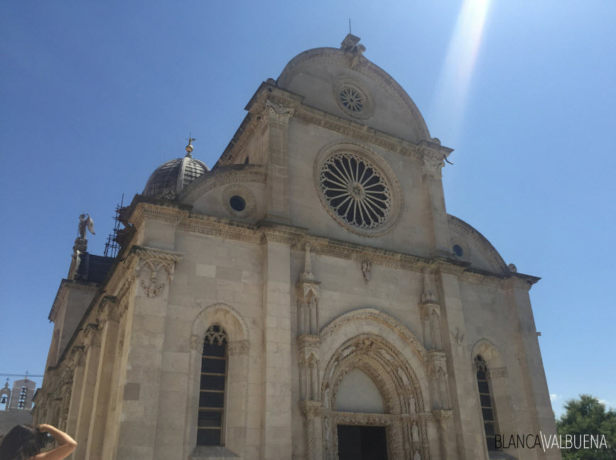 Die Kathedrale von St.. James in Sibenik
