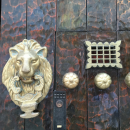 Lions are a sign of military powers in Cartagena Colombia
