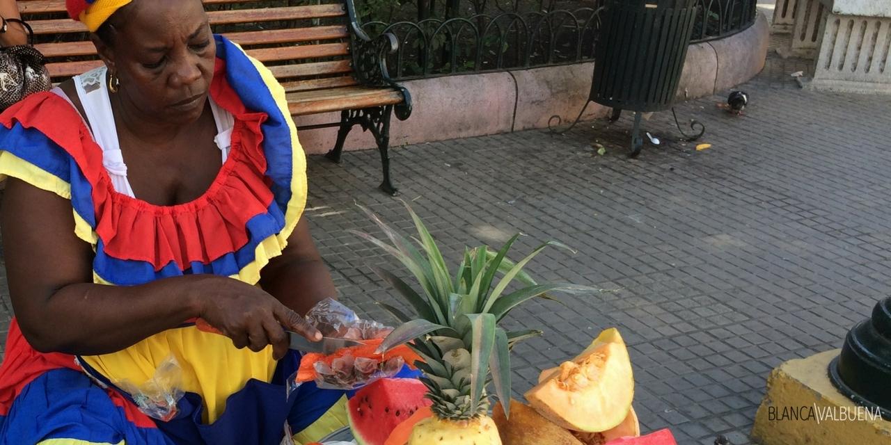 Cartagena tem grande fruta que você pode comprar nas ruas