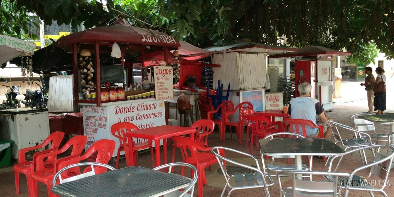 O ceviche em Cartagena é barato e delicioso