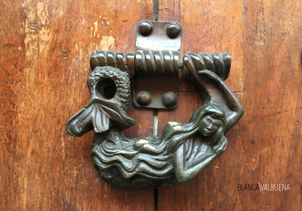Cartagena 39 s door knockers are one of the city 39 s most magical attractions - Mermaid door knocker ...